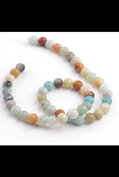 Mala Prayer Beads   Mixed Amazonite
