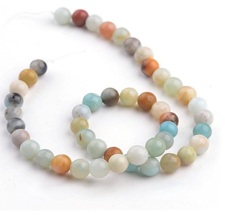 Mala Prayer Beads   Mixed Amazonite-1