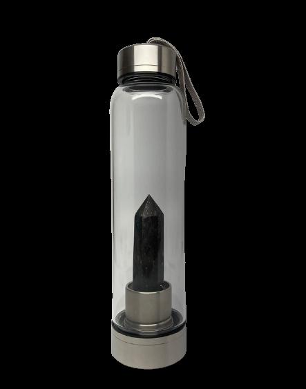 Crystal Water Bottle | Astrophyllite-1