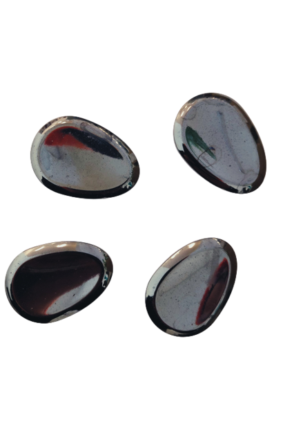 Worry Stone | Hematite