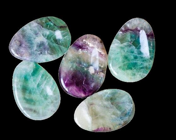 Worry Stone | Fluorite-1