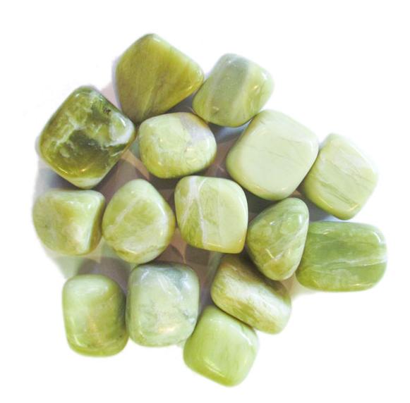 Tumbled Polished Stones | Infinite Serpentine-1