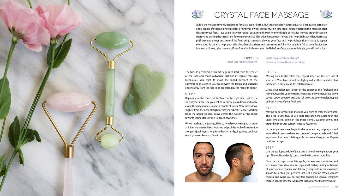 Herbs & Crystal DIY-2