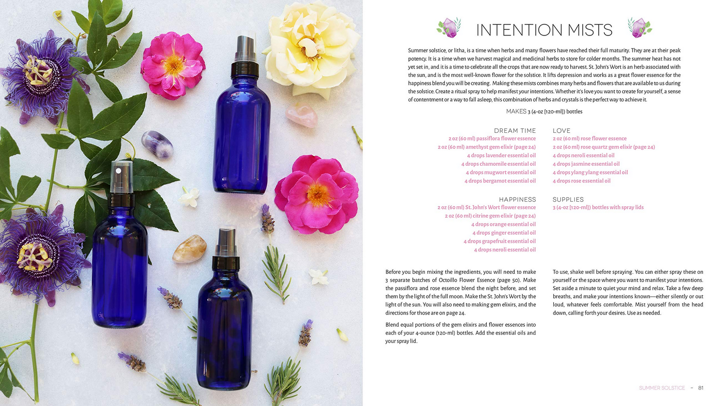 Herbs & Crystal DIY-3
