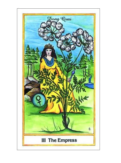 The Herbal Tarot Deck-4