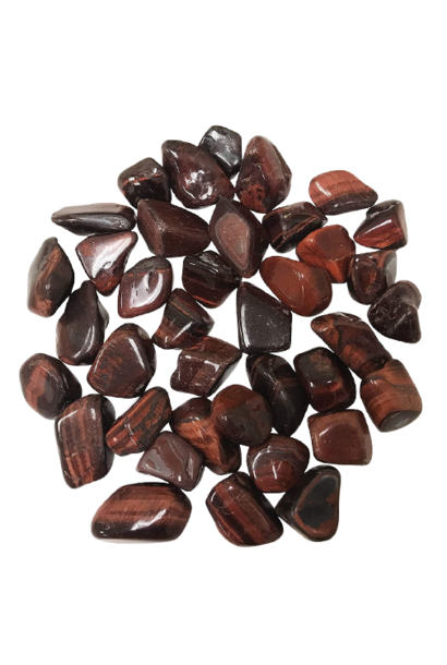 Tumbled Polished Stones | Red Tiger's Eye