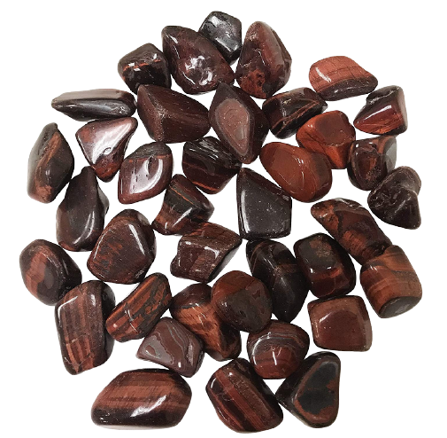 Tumbled Polished Stones | Red Tiger's Eye-1