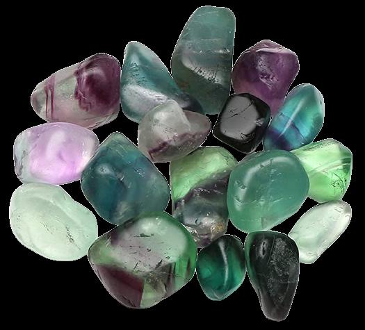 Tumbled Polished Stones | Fluorite-1