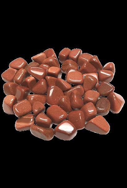 Tumbled Polished Stones | Goldstone