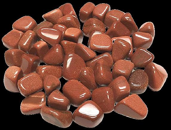Tumbled Polished Stones | Goldstone-1
