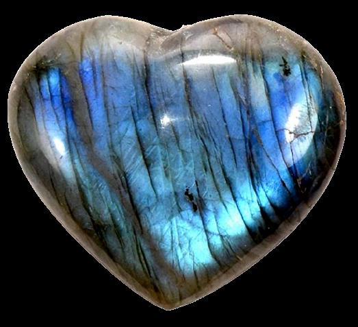 Labradorite Heart-1