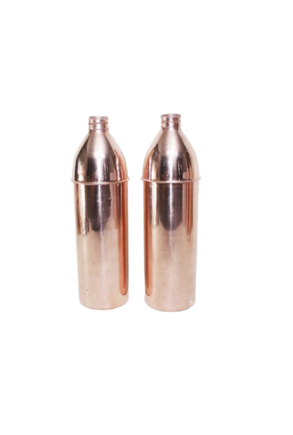 Ayurvedic Copper Water Bottle | Small Mouth with Cap