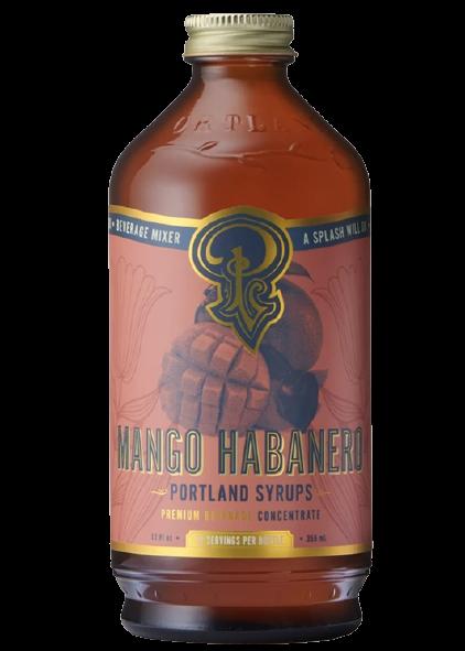 Cocktail Syrup | Mango Habanero-1