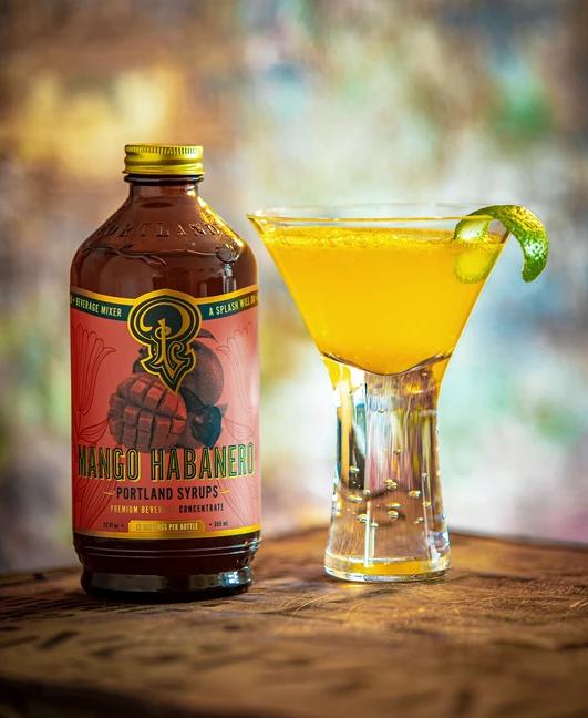 Cocktail Syrup | Mango Habanero-2