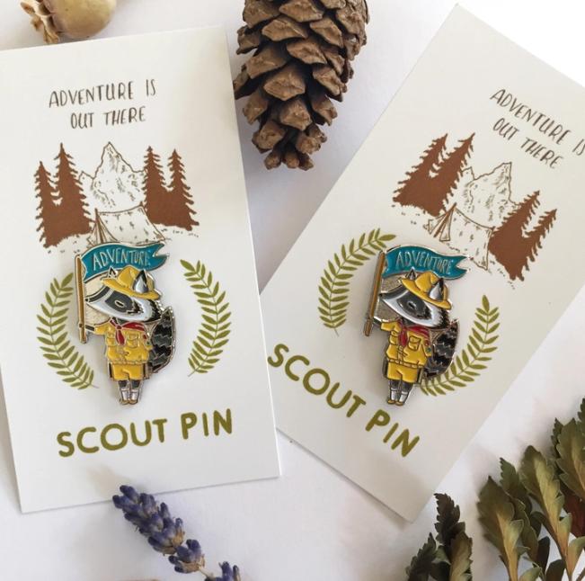 Enamel Pin | Scout-1