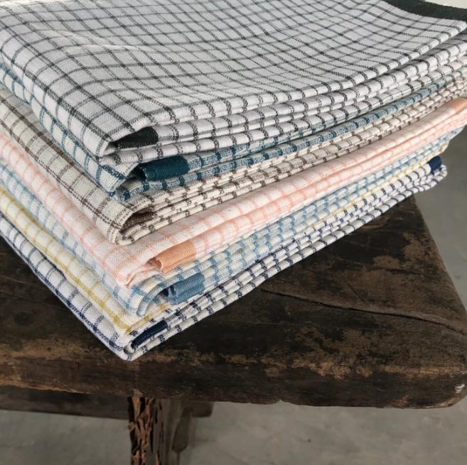 Classic Checker Handloom Turkish Towel-1