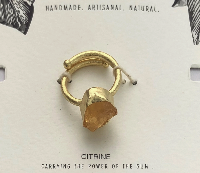 Healing Stone Ring | Assorted Crystals-3
