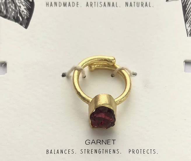 Healing Stone Ring | Assorted Crystals-4