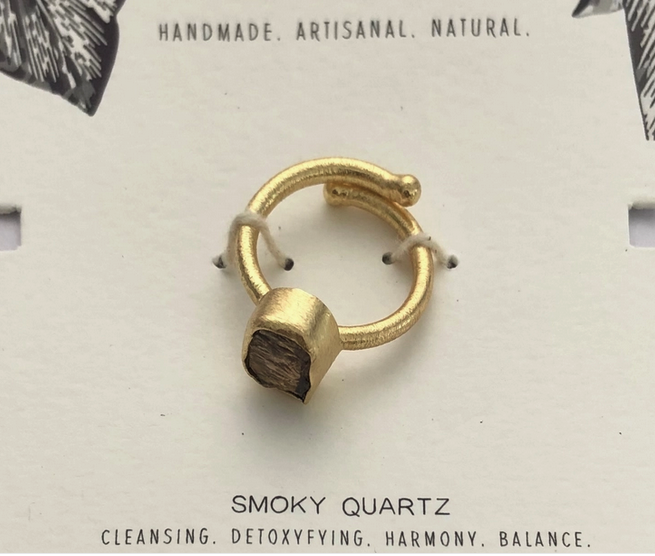 Healing Stone Ring | Assorted Crystals-6