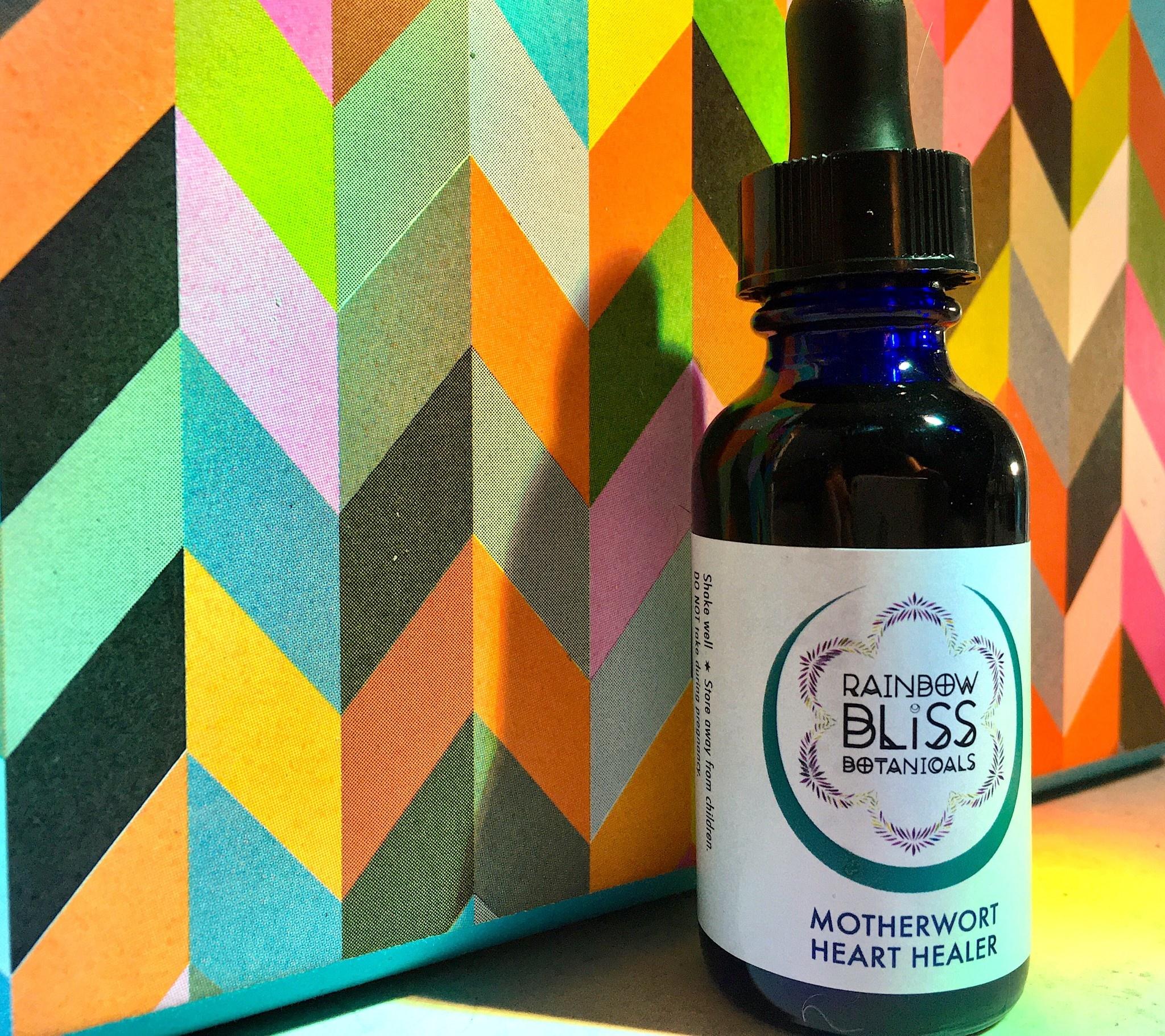 5223 - Tincture - Motherwort Heart Healer - 1oz - Rainbow Bliss-1
