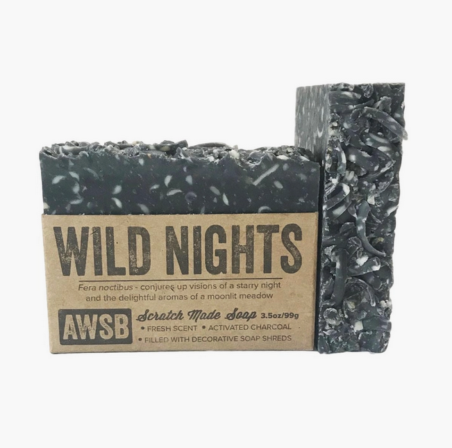 5239 - Soap - WILD NIGHTS - 3.5oz - A Wild Soap Bar-1
