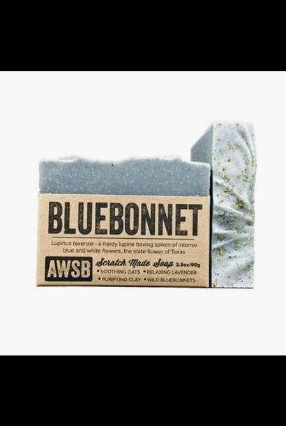 5238 - Soap - BLUEBONNET - 3.5oz - A Wild Soap Bar