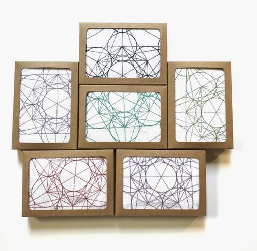 Crystal Grid Cloth | Metatron's Cube-1