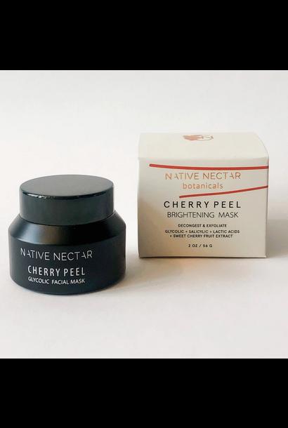 5256 - Cherry Peel Facial Mask - Glycolic Face Mask - Native Nectar