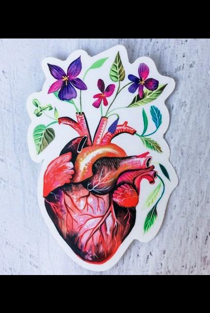 Matte Sticker | Garden Heart