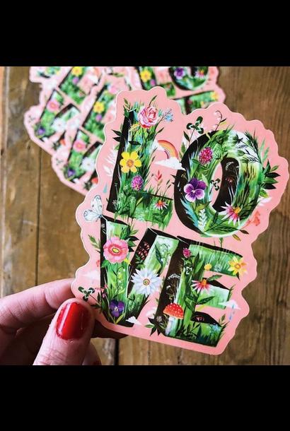 Matte Sticker | Love Grows
