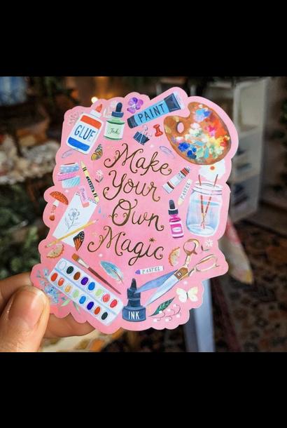 Matte Sticker | Make Your Own Magic