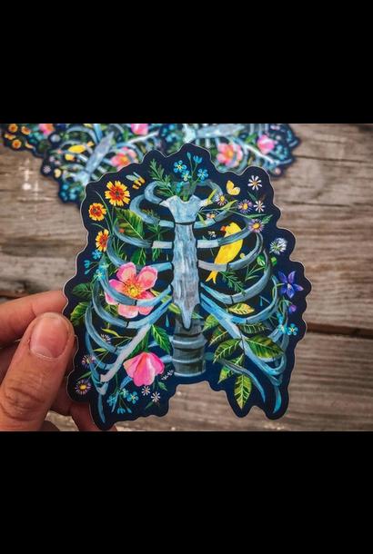 Matte Sticker | Rib Cage