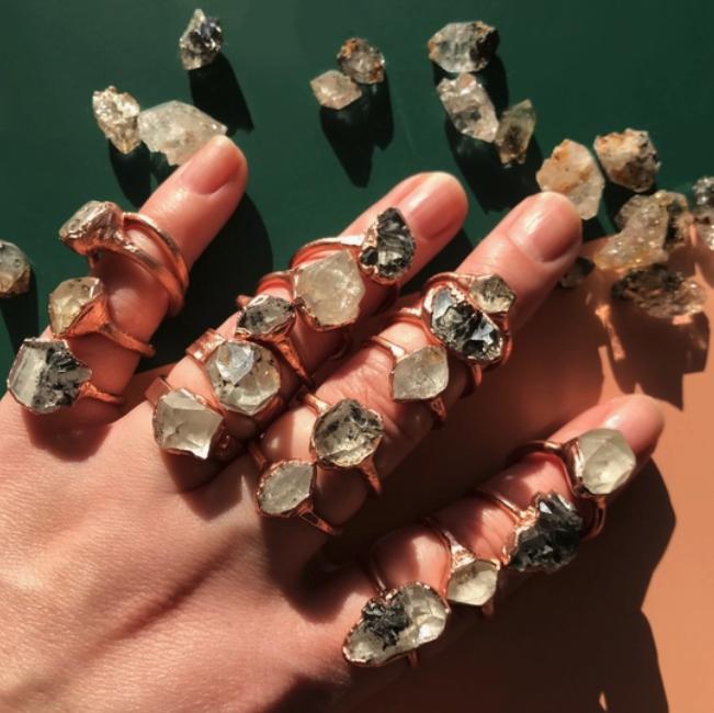 Ring | Herkimer Diamond-1