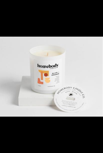 Bloom & Burn Candle | Olive + Orange