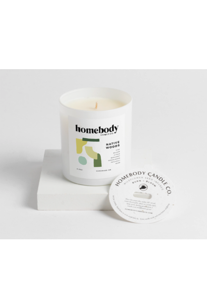 Bloom & Burn Candle | Native Woods