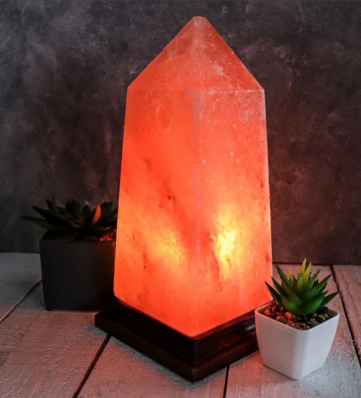 Himalayan Salt Lamp | Obelisk-1