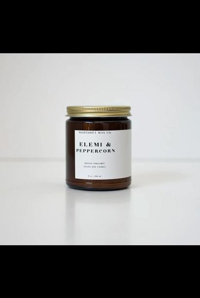 5299 - Candle - Elemi + Peppercorn - Soy - 9oz - Nightshift Wax Company