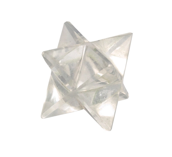 5308 - Crystal Merkaba - CLEAR QUARTZ - 1 in-1