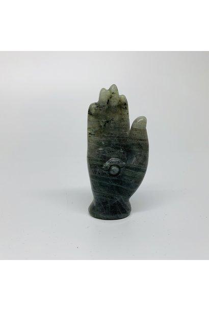 Crystal Carving   Labradorite Hand