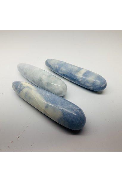 "5399 - Blue Calcite Wand - 5""-6"" - Massager - assorted & sizes"
