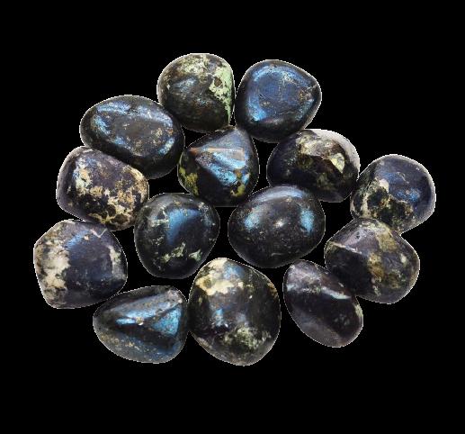 Tumbled Polished Stones | Covellite-2