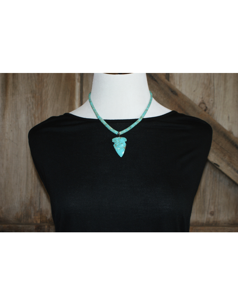 jewelry Turquoise Arrowhead Necklace