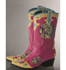 BOOT Retro Rodeo - Pink