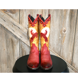 BOOT Liberty Black Red Bronc Boots