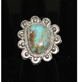 jewelry Silver & Turquoise Navajo Ring