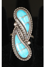 ACCESSORY 2 Teardrop Turquoise Ring