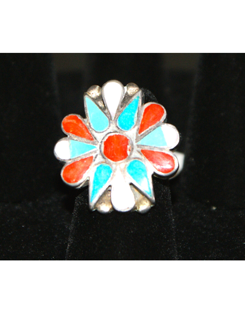 jewelry Native American Flower Inlay