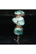 jewelry Turquoise & Silver Navajo Bracelet