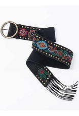 ACCESSORY Tasha Polizzi Beaded Belt
