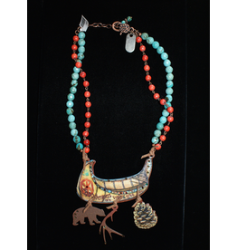 jewelry Canoe Necklace